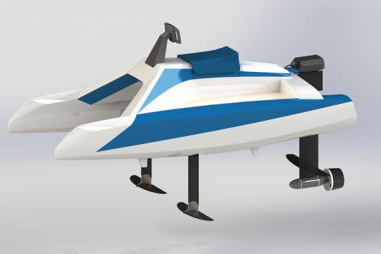 L'Overboat en 3D