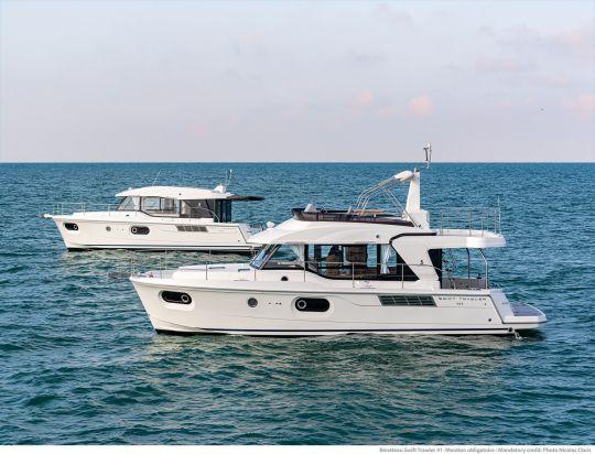 Les versions sedan et flybridge du Swift Trawler 41