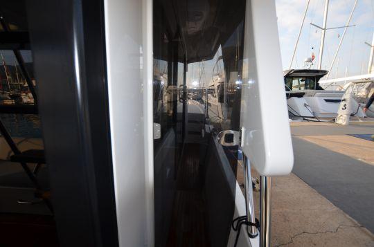 Le passavant tribord du Swift Trawler 41