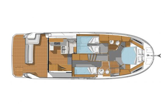 Cabines du Swift Trawler 41