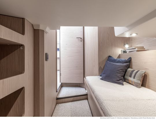 Cabine du Swift Trawler 41