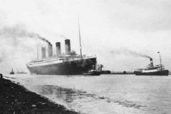 The Titanic in Southampton