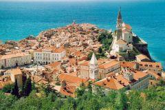 Piran in Slovenia