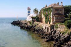 Santa Marta Lighthouse in Portugal