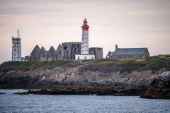 Saint-Mathieu lighthouse in Finistère
