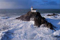 The Tévennec lighthouse