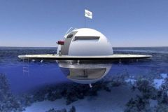 The UFO, the autonomous floating UFO