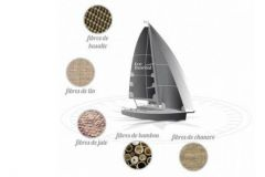 Eco-Transat, sailing boats made of natural fibres