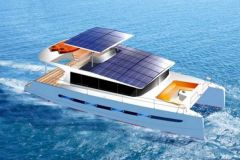 E-power 40, Swiss Catamarans hybrid catamaran