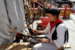 Marion, Master Sailmaker aboard the Hermione