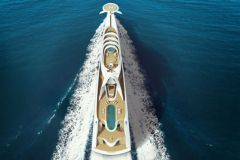 The concept of superyacht L'Amage