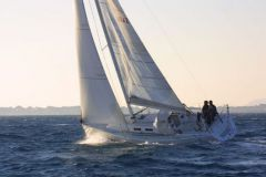 Upwind with a sailboat