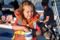 Child in navigation - la jolie Clémence