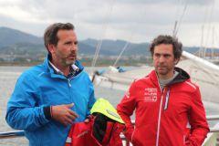 Lionel de la Hosseraye, Tribord and Tanguy de Lamotte habitable sailing product manager