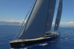 Sybaris, the best sailing yacht of the year 2017