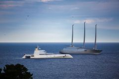Superyachts A gathered in Monaco