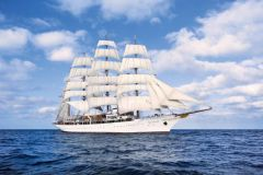 The Sea Cloud, the second largest sailing ship in the world