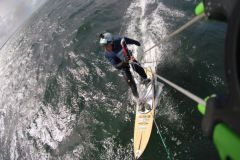 New kitesurfing challenge for the world record holder in handisport speed sailing