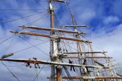 27 tall ships have gathered in Bordeaux, in the heart of the city centre