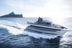 Princess X95, first model of the Princess Yachts X Class