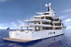 Artefact, the new superyacht of Nobiskrug