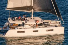 The Lagoon 46 offers exceptional comfort for a catamaran under 50 feet