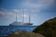 Sailing Yacht A, the world's largest private sailing yacht