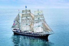 The Belem, a three-masted barque