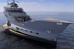 The Caronte, superyacht of modern pirates