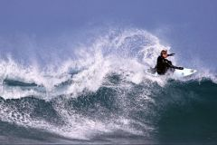 Surfing in Anglet