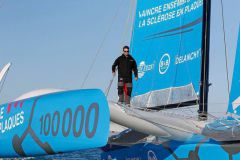 Thibaut Vauchel-Camus is the skipper of the Multi50 Solidaires En Peloton - ARSEP and co-founder with Victorien Erussard of the Défi Voile Solidaires En Peloton. He first made his debut in Hobbie Cat 16 before joining the Pôle France Espoir in Tornado at the Ecole Nationale de Voile before joining Yvan Bourgnon's Team Océan and then helping his friend Fred Duthil. Great sailing figures who made him want to launch himself.