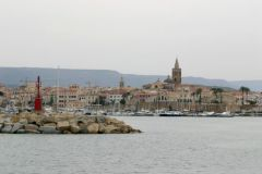 The port of Alghero, a Sardinian stopover outside the beaten waters...