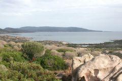 View of the Asinara Natural Park