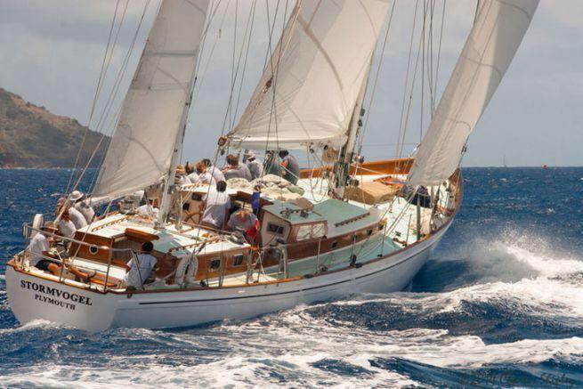 Stromvogel, sailboat from the film Calme Blanc